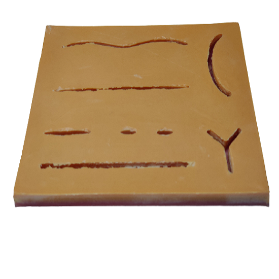 Human Wound Suture Pad (3 Layers)