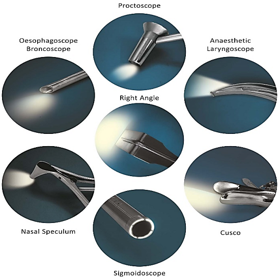 Fiber Optic Illuminated Hand Instruments