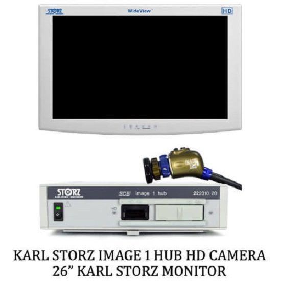 Karl Storz Image 1 Hub H3z Head – 26 Karl Storz Monitor (Refurbished)
