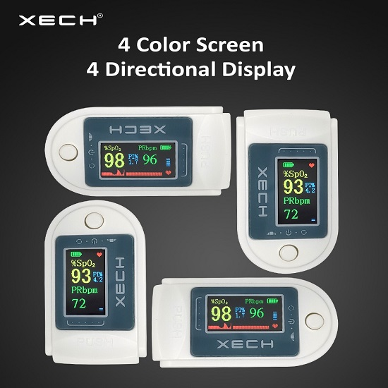 Xech Oxybeat Oximeter