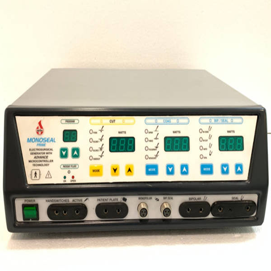 Vessel Sealer With Micro Controlled Surgical Diathermy