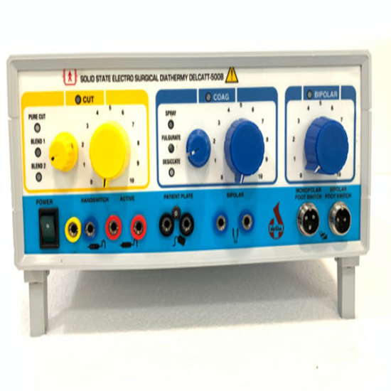 Electro Surgical Diathermy Unit – Solid State- Delcatt 500B