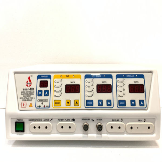 Micro controlled Electro Surgical Diathermy with Bipolar TURP & Vessel Sealer – elian-DX