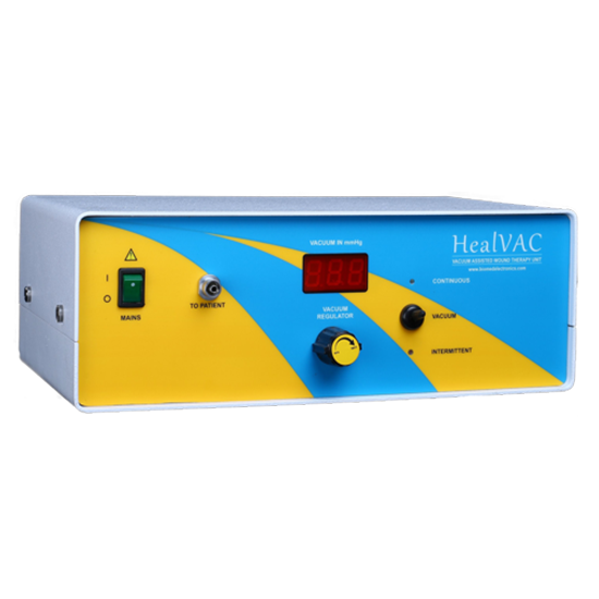 Heal Vac – Controlled Suction Pump